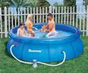 Bestway 10ft x 30 Inch Fast Set Garden Pool